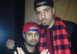 DJ RD and J Cole