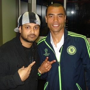 Ashley Cole (Chelsea Football Player) & DJ RD