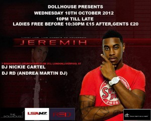 DJ RD & Jeremih at Club Dollhouse