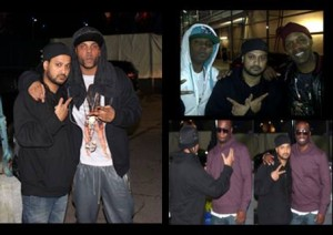 DJ RD with Brandon, Brian, Richard of Jagged Edge & Q of 112.