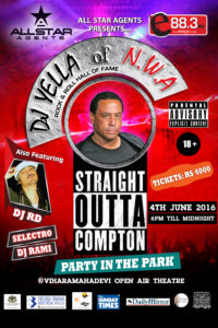 DJ Yella of N.W.A & DJ RD Live In Colombo