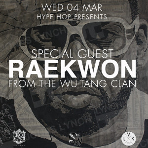 Raekwon of Wu Tang Clan & DJ RD at the Cirque Le Soir